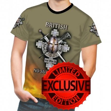 BRITISH NO SURRENDER NT-SHIRTS