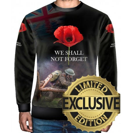 FOR ALL OUR FALLEN SWEATSHIRT
