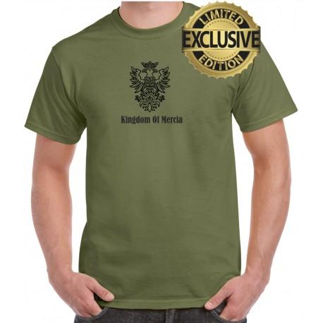 Kingdom Of Mercia Doubleheaded Eagle cotton t-shirt