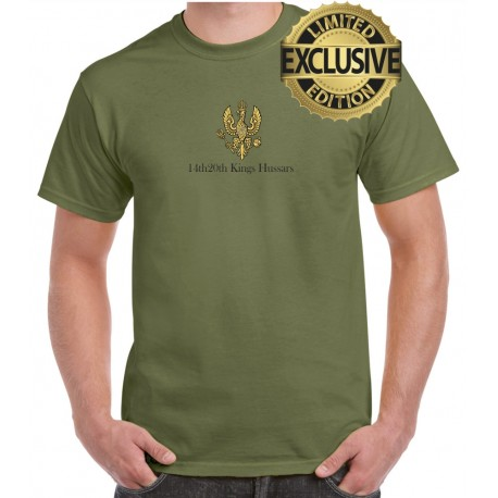14th 20th Kings Hussars cotton t-shirt