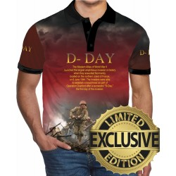 D-DAY NORMANDY POLO SHIRTS
