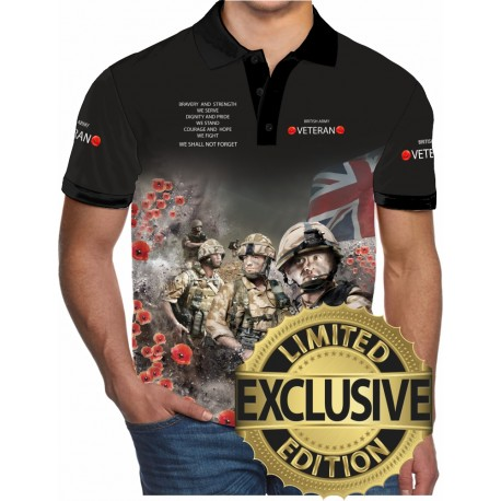 VETERAN2 POLO SHIRTS