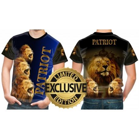 BRITISH LIONS PATRIOT T SHIRT