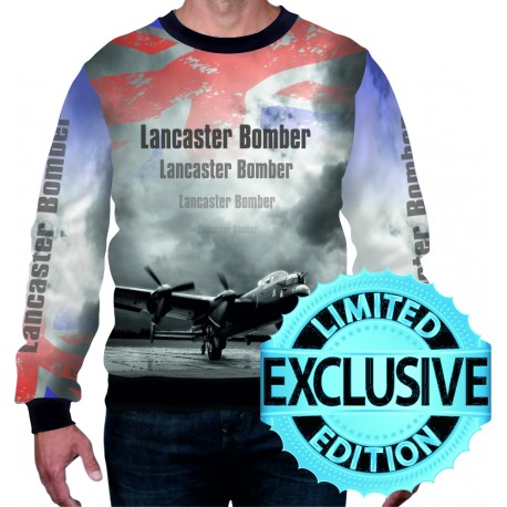 Avro Lancaster Bomber WW2 Allied Forces Mens SWEATSHIRT