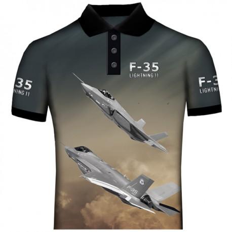 f-35 POLO SHIRT