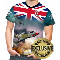 75 th anniversary d-day WW2 Allied Forces Mens T SHIRT