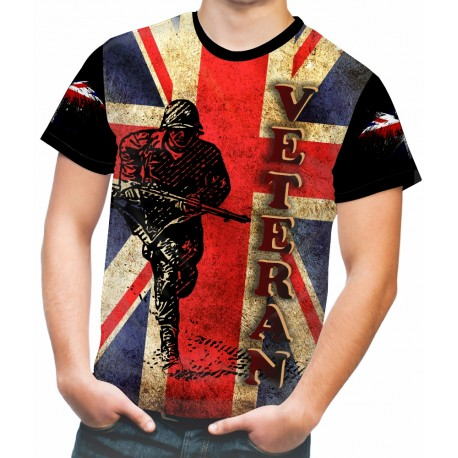 BRITISH VETERAN T-SHIRTS