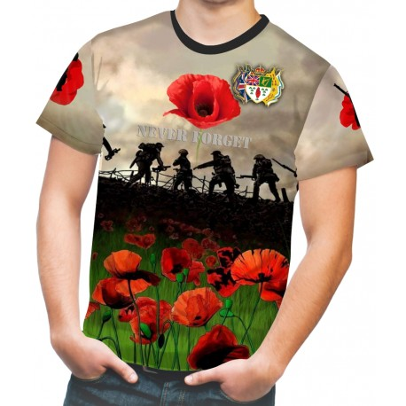 SOMME UVF NEVER FORGET T-SHIRTS