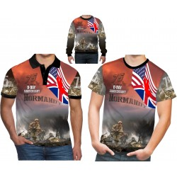 75TH ANNIVERSARY D-DAY NORMANDY POLO SHIRTS
