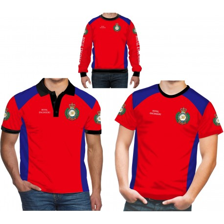 Royal Engineers British Army Polo Shirt
