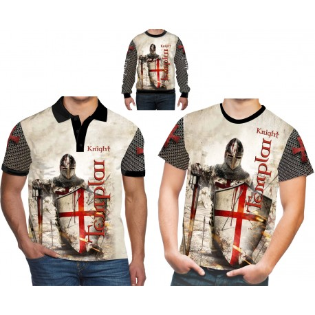 THE KNIGHTS TEMPLAR,ROYAL TEUTONIC ALL OVER T-SHIRT