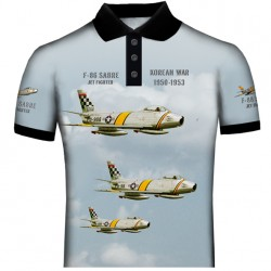 F-86 SABRE POLO SHIRT