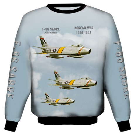 F-86 SABRE SWEAT SHIRT