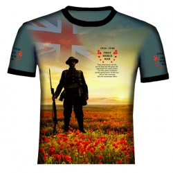 BRITISH WORLD WAR I T SHIRT