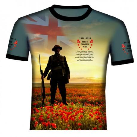 BRITISH WORLD WAR I T SHIRT