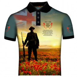 BRITISH WORLD WAR I POLO SHIRT