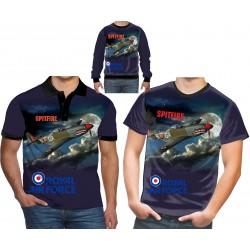 RAF-Supermarine-Spitfire-T-Shirt-Army-World-War-II Battle of Britain