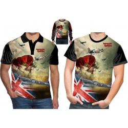 Supermarine Spitfire WW2 T-shirt RAF