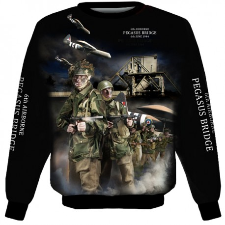 PEGASUS BRIDGE SWEAT SHIRT