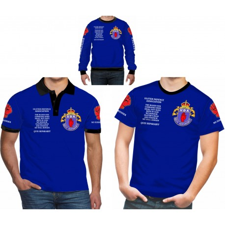 UDA Ulster Defence Association Shirts