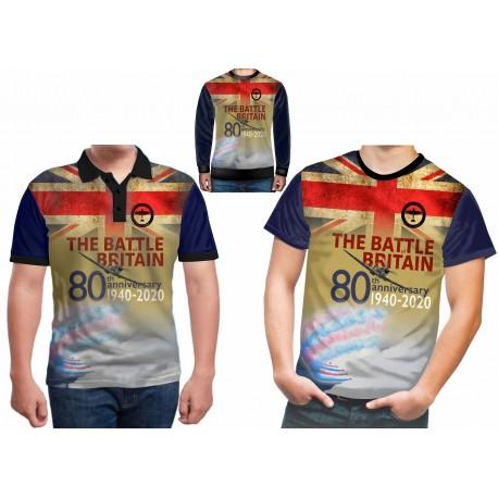 BATTLE OF BRITAIN 80 TH ANNIVERSARY T-shirt RAF T SHIRTS