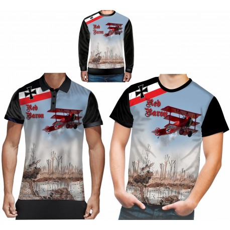 REMEMBER WW1 RED BARON T SHIRT