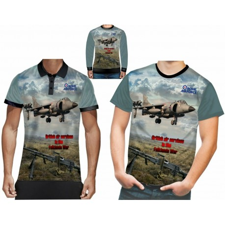 British Air Service in the Falklands war t shirt, Polo shirts, sweatshirt
