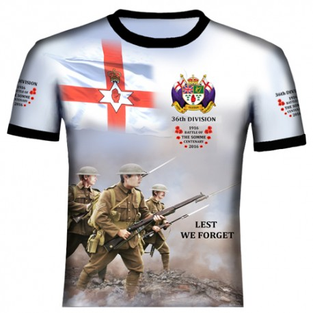 SOMME 36TH DIVISION T-SHIRTS