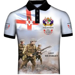 SOMME 36TH DIVISION POLO SHIRTS