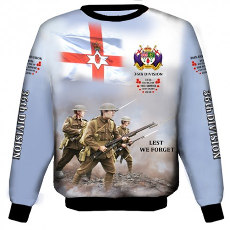 SOMME 36TH DIVISION WEAT-SHIRT