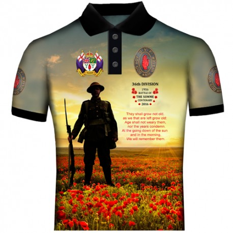 ULSTER WE SHALL NOT FORGET POLO SHIRTS
