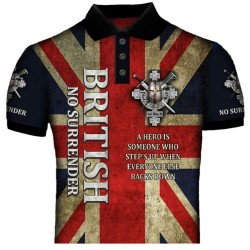 NO SURRENDER POLO SHIRTS