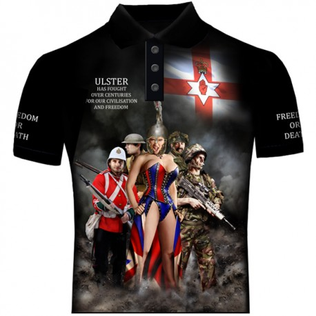 ULSTER FREEDOM POLO SHIRTS