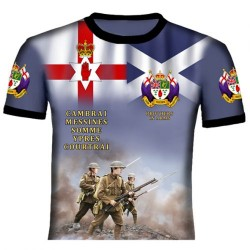 ULSTER SCOTS 36TH DIVISION T-SHIRTS