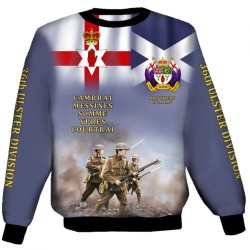ULSTER SCOTS 36TH DIVISION SWEAT SHIRTS