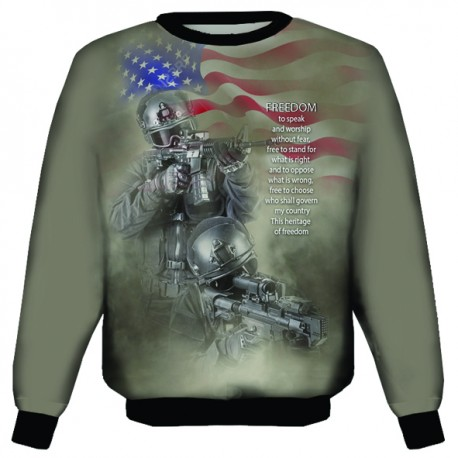 FREEDOM SWEAT SHIRTS
