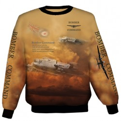 LANCASTER BOMBER SWEAT SHIRT