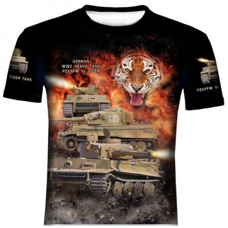 TIGER V1 T-SHIRTS