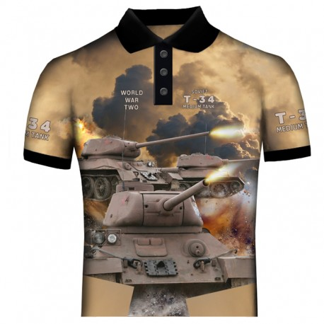 T-34 POLO SHIRTS