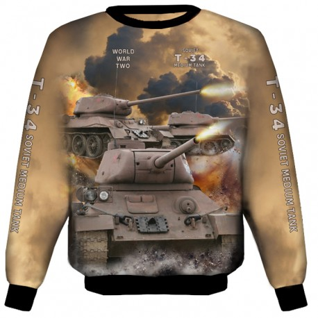 T-34 SWEAT SHIRTS
