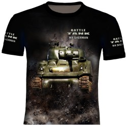 M-4 SHERMAN T-SHIRTS