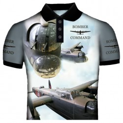 Lancaster Bomber 2 Polo Shirt