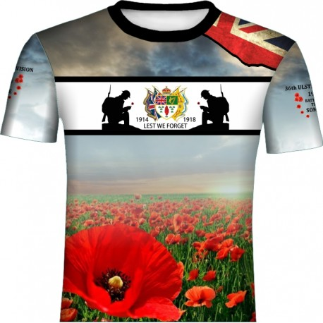THE SOMME 36 DIVISION T-SHIRT