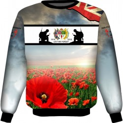 THE SOMME 36TH DIVISION SWEATSHIRT