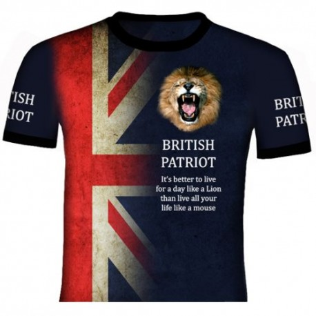 BRITISH PATRIOT T SHIRT
