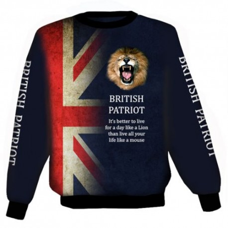 BRITISH PATRIOT WEAT-SHIRT
