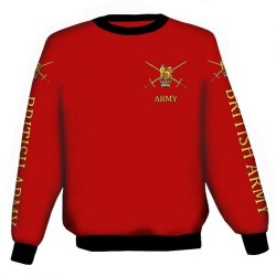 BRITISH ARMY SWEATSHIRT
