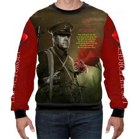 SOLDIER REMEMBER WEAT-SHIRT