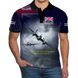 DE HAVILLAND MOSQUITO POLO SHIRT