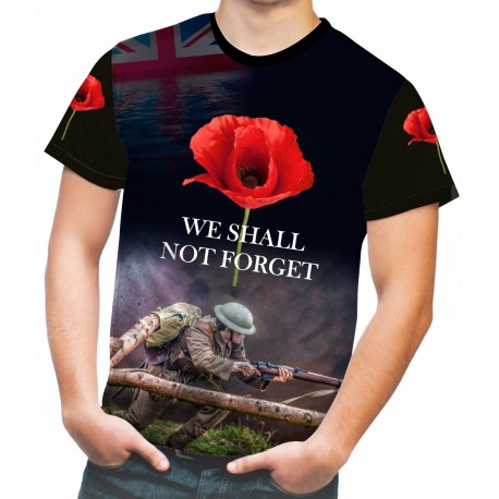 FOR ALL OUR FALLEN T-SHIRT